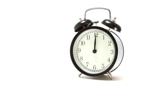 作業が捗る!早寝早起きの利点と問題点をご紹介