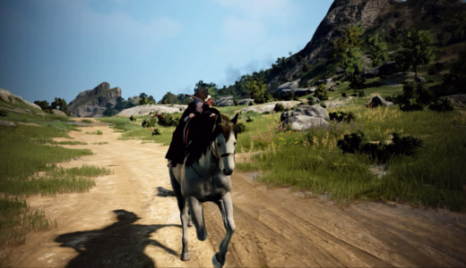 【PS4版 黒い砂漠】馬を手に入れよう!序盤の村で馬を購入する方法