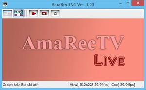 アマレコTVで映像が映らない時は旧バージョンを使えば解決するかも