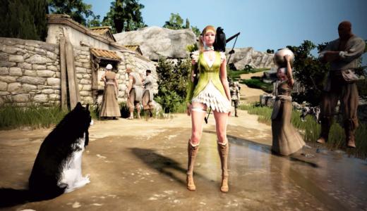 【PS4版 黒い砂漠】序盤の狩りにおすすめ、フォルトゥーナシリーズ