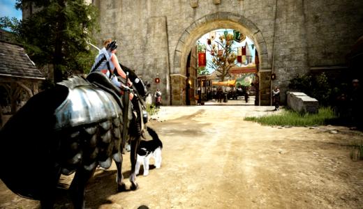 【PS4版黒い砂漠】徒歩と馬、どっちが速い?レンジャーと馬を比較